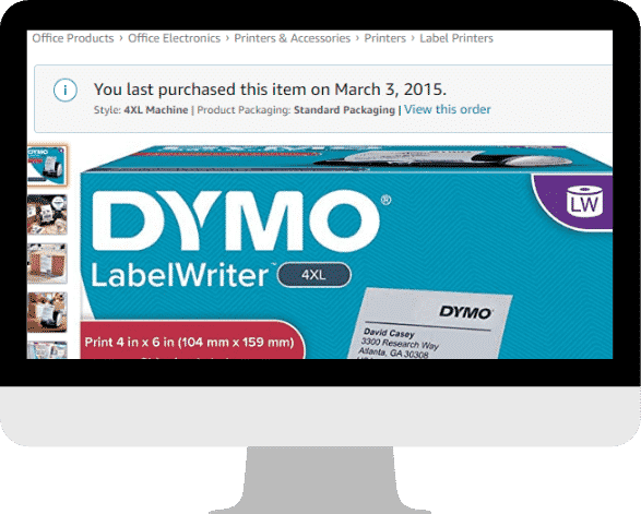 DYMO LabelWriter 4XL Thermal Label Printer Review Dymo 3