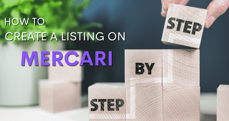 create a listing on mercari
